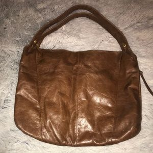 Brown Leather HOBO purse